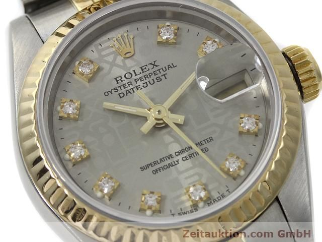 Used luxury watch Rolex Lady Datejust steel / gold automatic Kal. 2135 Ref. 69173  | 140098 02