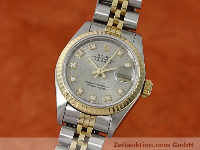 Used luxury watch Rolex Lady Datejust steel / gold automatic Kal. 2135 Ref. 69173  | 140098 04