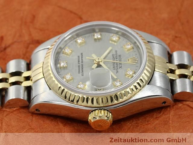 Used luxury watch Rolex Lady Datejust steel / gold automatic Kal. 2135 Ref. 69173  | 140098 05