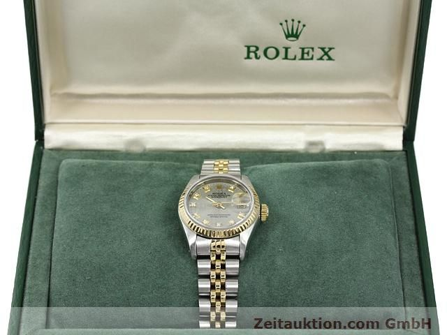 Used luxury watch Rolex Lady Datejust steel / gold automatic Kal. 2135 Ref. 69173  | 140098 07