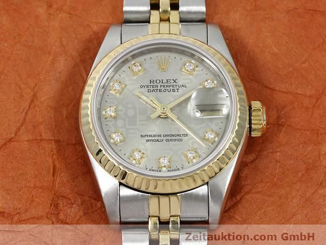 Used luxury watch Rolex Lady Datejust steel / gold automatic Kal. 2135 Ref. 69173  | 140098 15