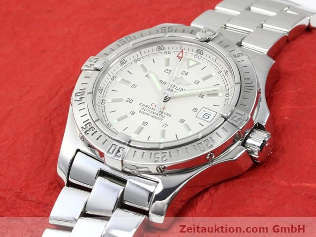 Used luxury watch Breitling Colt steel automatic Kal. ETA 2824-2 Ref. A17380  | 140099 01