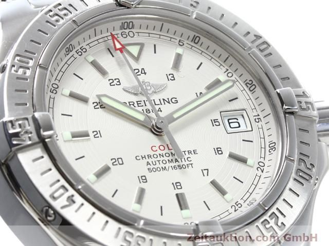 Used luxury watch Breitling Colt steel automatic Kal. ETA 2824-2 Ref. A17380  | 140099 02
