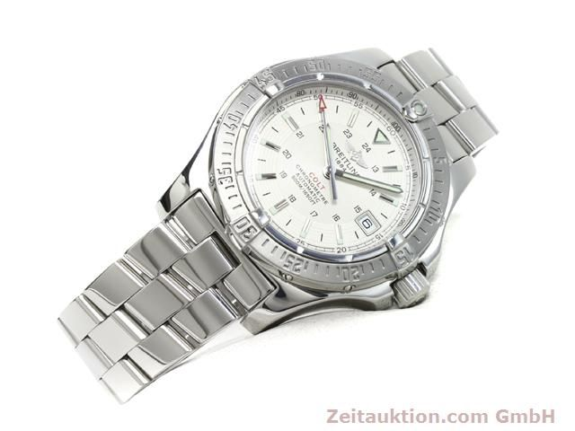 Used luxury watch Breitling Colt steel automatic Kal. ETA 2824-2 Ref. A17380  | 140099 03