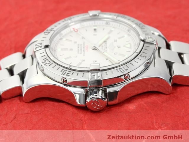 Used luxury watch Breitling Colt steel automatic Kal. ETA 2824-2 Ref. A17380  | 140099 05