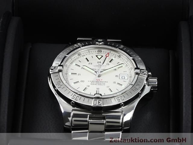 Used luxury watch Breitling Colt steel automatic Kal. ETA 2824-2 Ref. A17380  | 140099 07