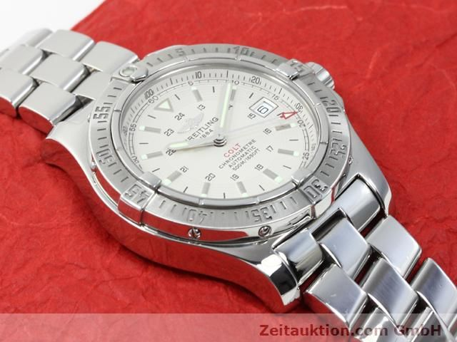 Used luxury watch Breitling Colt steel automatic Kal. ETA 2824-2 Ref. A17380  | 140099 16