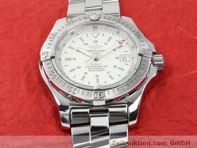 Used luxury watch Breitling Colt steel automatic Kal. ETA 2824-2 Ref. A17380  | 140099 17