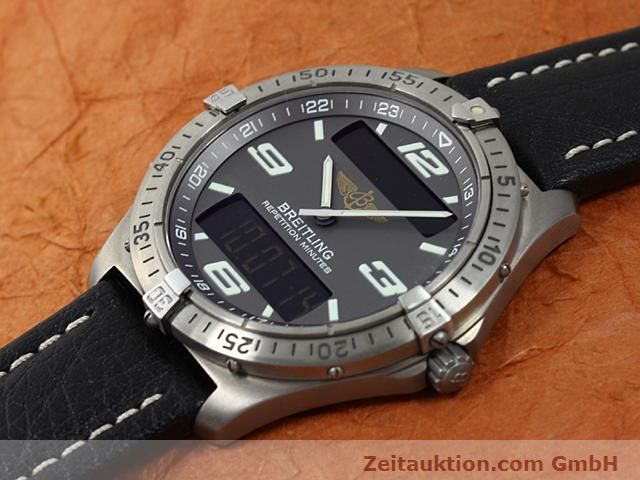 Used luxury watch Breitling Aerospace titanium quartz Kal. ETA E10391 Ref. E65062  | 140100 01