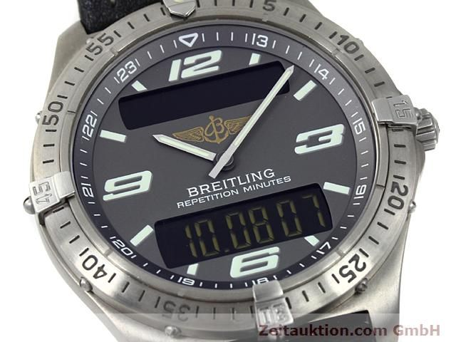 Used luxury watch Breitling Aerospace titanium quartz Kal. ETA E10391 Ref. E65062  | 140100 02