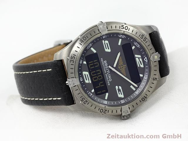 Used luxury watch Breitling Aerospace titanium quartz Kal. ETA E10391 Ref. E65062  | 140100 03