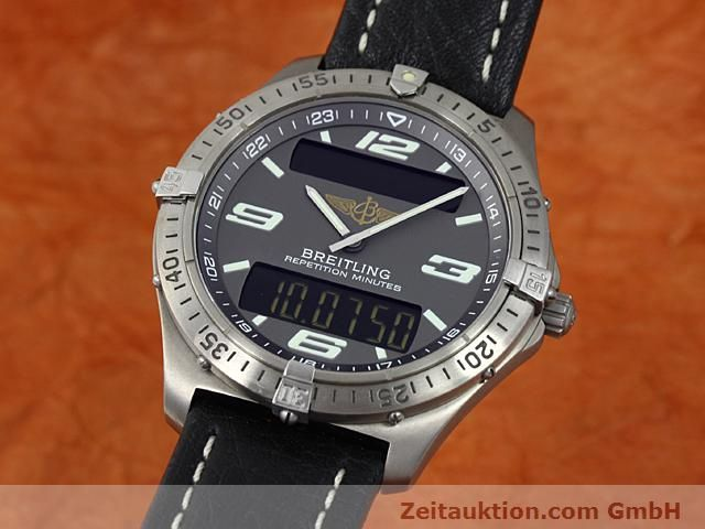 Used luxury watch Breitling Aerospace titanium quartz Kal. ETA E10391 Ref. E65062  | 140100 04
