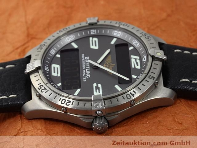 Used luxury watch Breitling Aerospace titanium quartz Kal. ETA E10391 Ref. E65062  | 140100 05