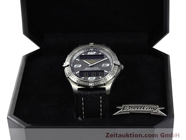 Used luxury watch Breitling Aerospace titanium quartz Kal. ETA E10391 Ref. E65062  | 140100 07