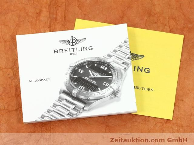 Used luxury watch Breitling Aerospace titanium quartz Kal. ETA E10391 Ref. E65062  | 140100 12
