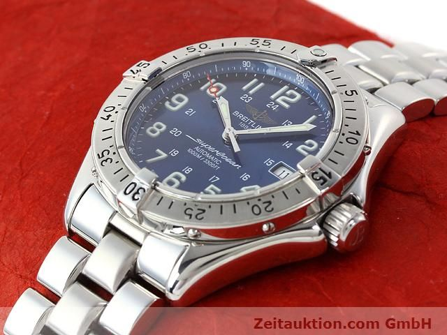 Used luxury watch Breitling Superocean steel automatic Kal. ETA 2824-2 Ref. A17340  | 140103 01