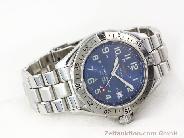 Used luxury watch Breitling Superocean steel automatic Kal. ETA 2824-2 Ref. A17340  | 140103 03
