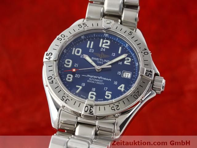 Used luxury watch Breitling Superocean steel automatic Kal. ETA 2824-2 Ref. A17340  | 140103 04