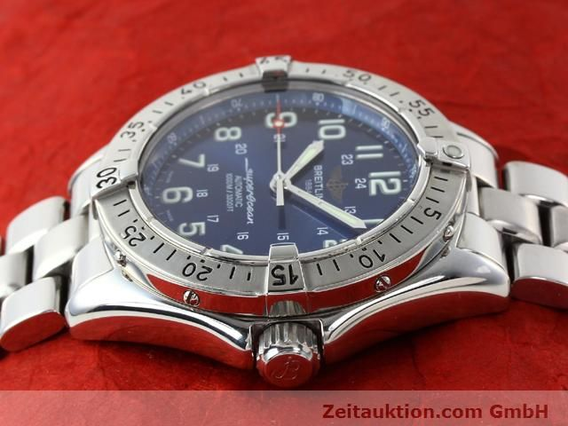 Used luxury watch Breitling Superocean steel automatic Kal. ETA 2824-2 Ref. A17340  | 140103 05