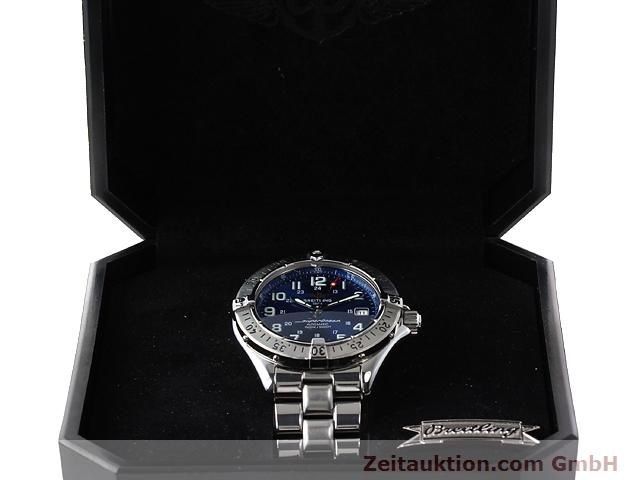 Used luxury watch Breitling Superocean steel automatic Kal. ETA 2824-2 Ref. A17340  | 140103 07