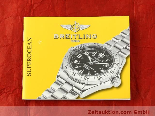Used luxury watch Breitling Superocean steel automatic Kal. ETA 2824-2 Ref. A17340  | 140103 13