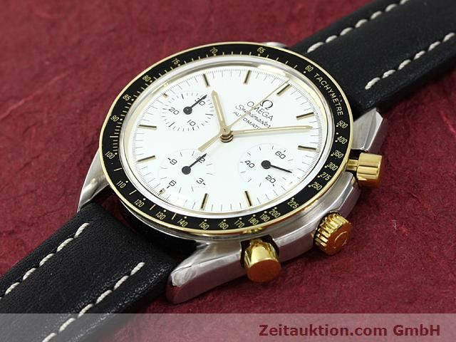 Used luxury watch Omega Speedmaster gilt steel automatic Kal. 1140  | 140114 01