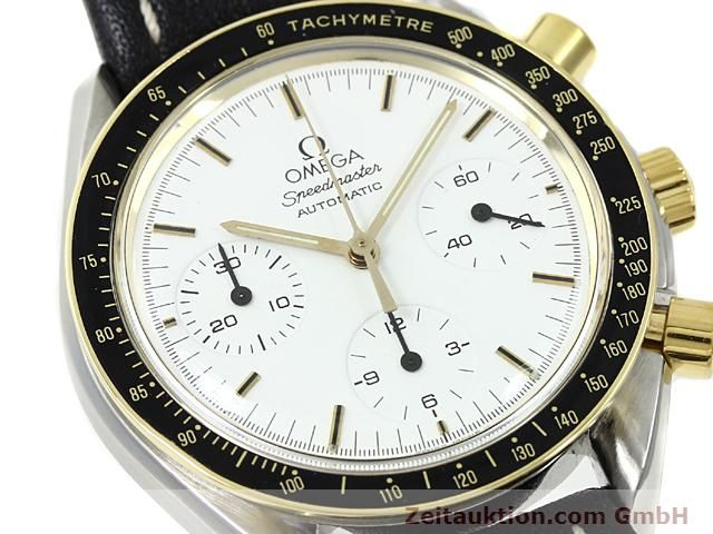 Used luxury watch Omega Speedmaster gilt steel automatic Kal. 1140  | 140114 02