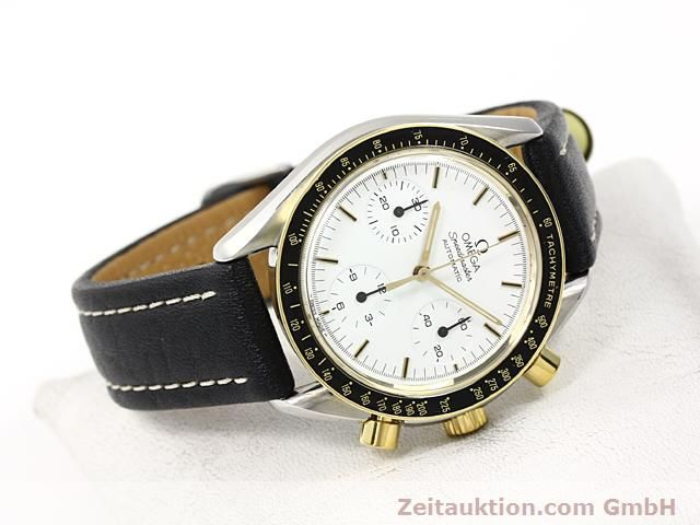 Used luxury watch Omega Speedmaster gilt steel automatic Kal. 1140  | 140114 03