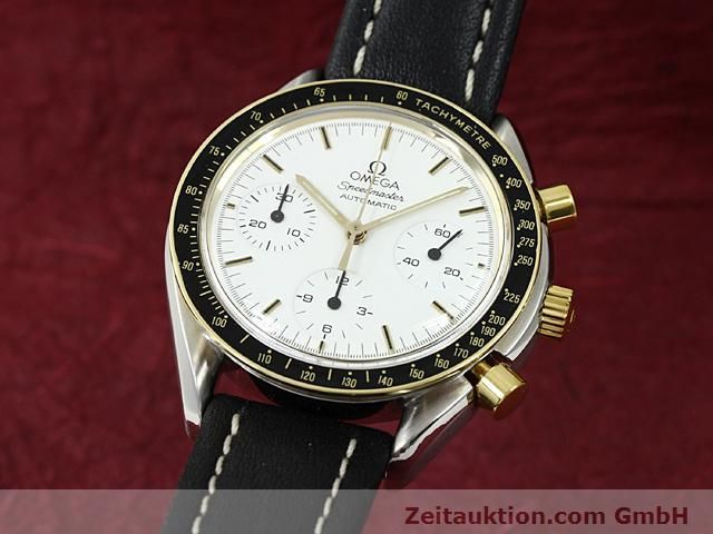 Used luxury watch Omega Speedmaster gilt steel automatic Kal. 1140  | 140114 04