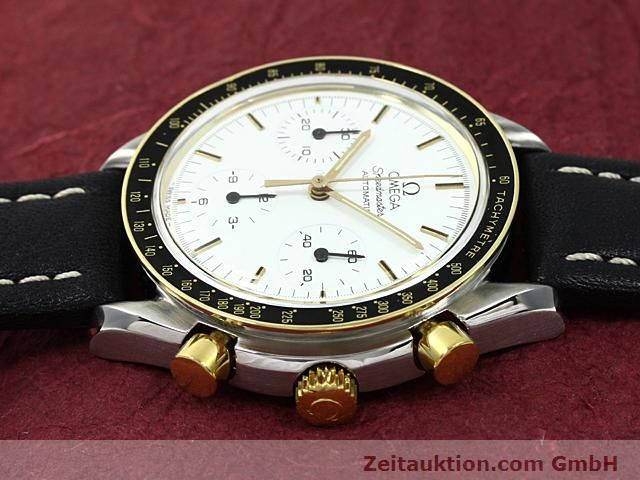 Used luxury watch Omega Speedmaster gilt steel automatic Kal. 1140  | 140114 05