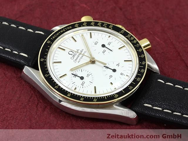 Used luxury watch Omega Speedmaster gilt steel automatic Kal. 1140  | 140114 13