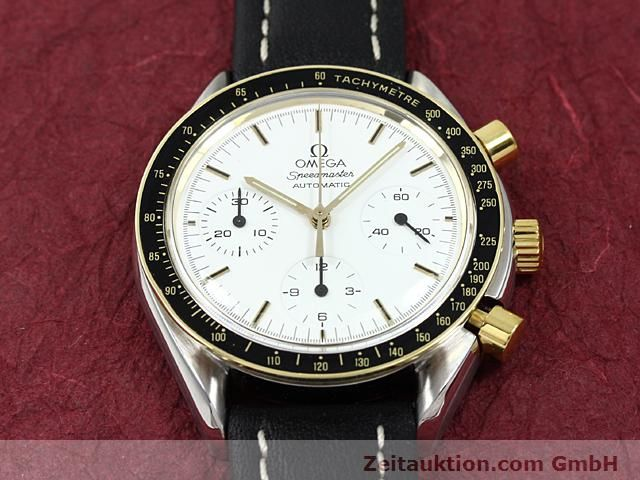 Used luxury watch Omega Speedmaster gilt steel automatic Kal. 1140  | 140114 14