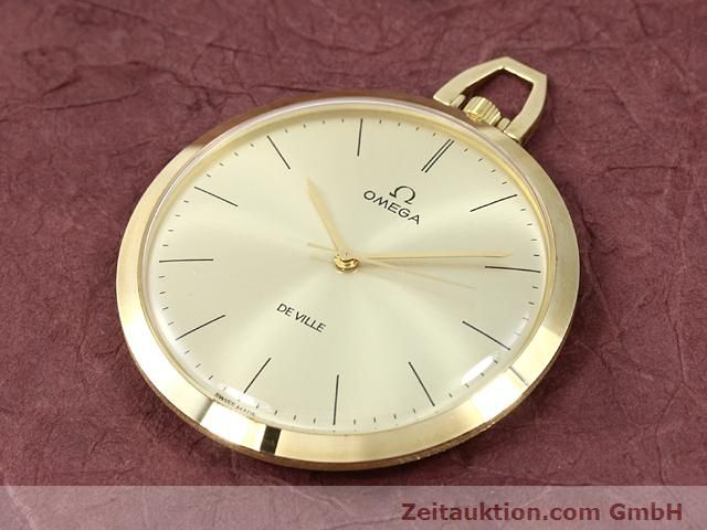 Used luxury watch Omega Taschenuhr 14 ct yellow gold manual winding Kal. 601 Ref. 1211  | 140117 01