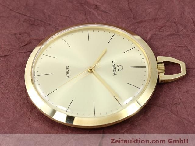 Used luxury watch Omega Taschenuhr 14 ct yellow gold manual winding Kal. 601 Ref. 1211  | 140117 03