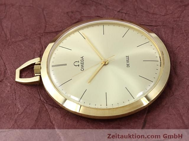 Used luxury watch Omega Taschenuhr 14 ct yellow gold manual winding Kal. 601 Ref. 1211  | 140117 05