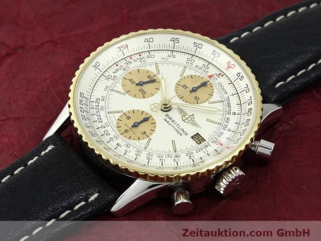 Used luxury watch Breitling Navitimer gilt steel automatic Kal. Valjoux 7750 Ref. 81610  | 140123 01