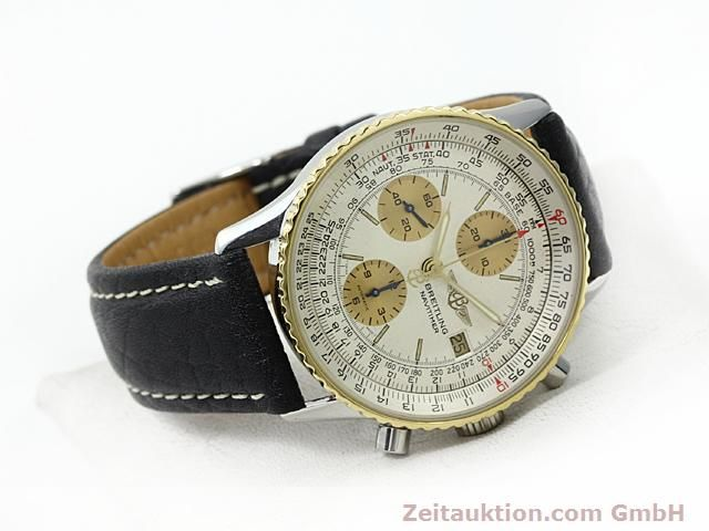 Used luxury watch Breitling Navitimer gilt steel automatic Kal. Valjoux 7750 Ref. 81610  | 140123 03