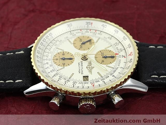 Used luxury watch Breitling Navitimer gilt steel automatic Kal. Valjoux 7750 Ref. 81610  | 140123 05