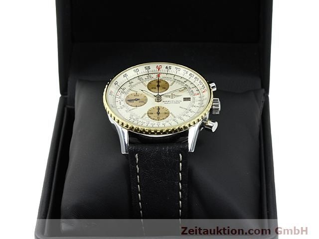 Used luxury watch Breitling Navitimer gilt steel automatic Kal. Valjoux 7750 Ref. 81610  | 140123 07