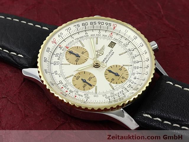 Used luxury watch Breitling Navitimer gilt steel automatic Kal. Valjoux 7750 Ref. 81610  | 140123 11