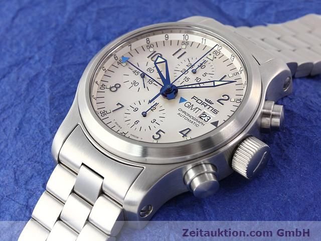 Used luxury watch Fortis B42 steel automatic Kal. ETA7750 Ref. 637.10.172  | 140127 01
