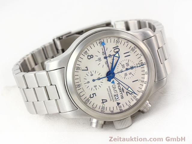 Used luxury watch Fortis B42 steel automatic Kal. ETA7750 Ref. 637.10.172  | 140127 03