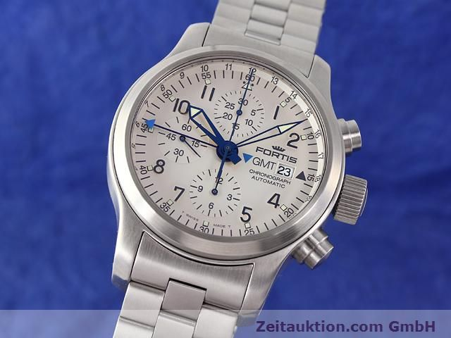 Used luxury watch Fortis B42 steel automatic Kal. ETA7750 Ref. 637.10.172  | 140127 04
