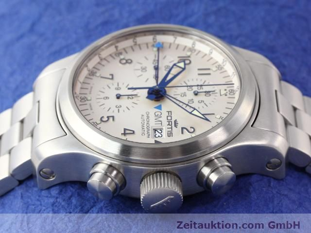 Used luxury watch Fortis B42 steel automatic Kal. ETA7750 Ref. 637.10.172  | 140127 05