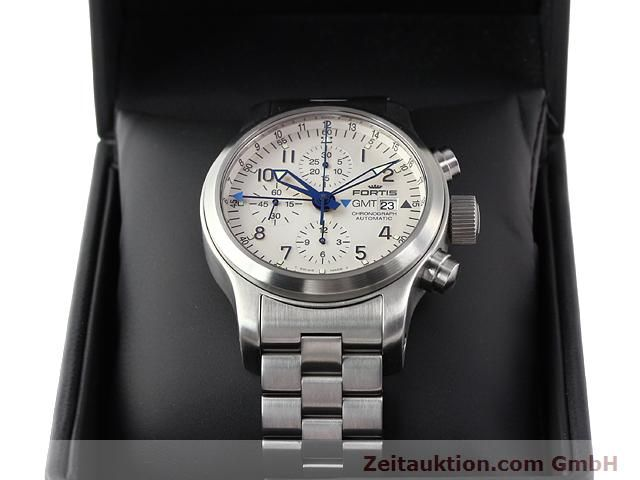 Used luxury watch Fortis B42 steel automatic Kal. ETA7750 Ref. 637.10.172  | 140127 07