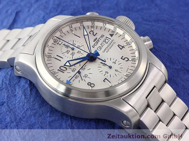 Used luxury watch Fortis B42 steel automatic Kal. ETA7750 Ref. 637.10.172  | 140127 13