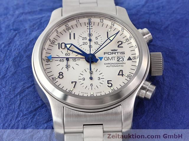 Used luxury watch Fortis B42 steel automatic Kal. ETA7750 Ref. 637.10.172  | 140127 14