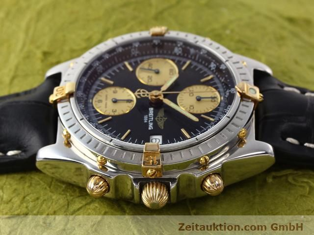 Used luxury watch Breitling Chronomat steel / gold automatic Kal. ETA 7750 Ref. B13050  | 140131 05