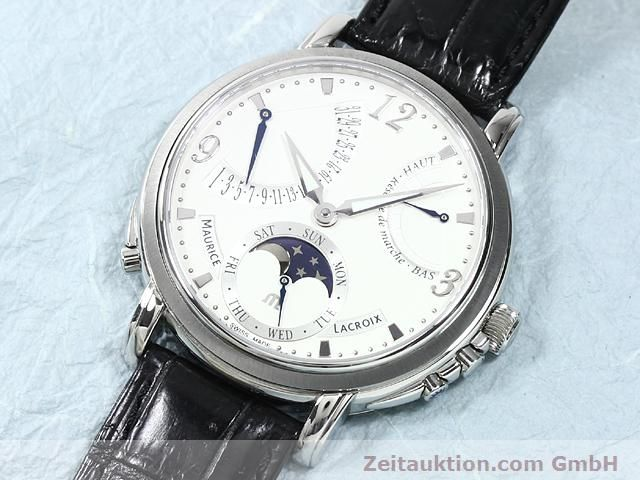 Used luxury watch Maurice Lacroix Masterpiece steel manual winding Kal. ML 104 Ref. MP7078  | 140137 01