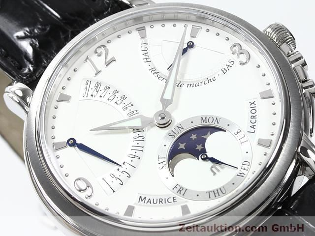 Used luxury watch Maurice Lacroix Masterpiece steel manual winding Kal. ML 104 Ref. MP7078  | 140137 02